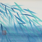 caroline mars asian elements chinese painting bamboo korean colours