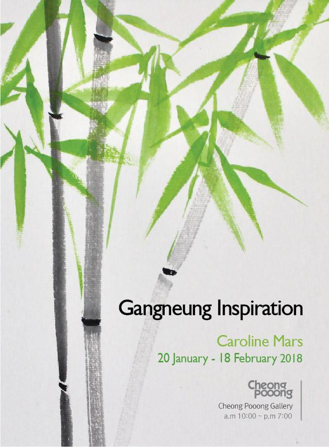 caroline mars asian art exhibition gangneung korea cheong pooong gallery pyeongchang2018 winterolympics